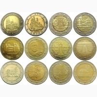 Немецкие юбилейные монеты 2 евро