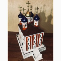 Архитектурный макет.Успенский Собор (Рязанский Кремль)