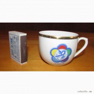 Продам чашечку фестивальную 1985г