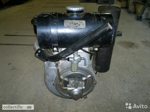 Двигатель 2-х тактный IFA EL 150 гдр 1977 год