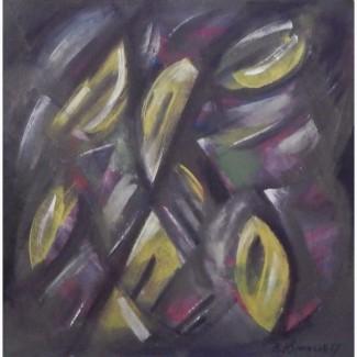 Картина Жёлтые плоды холст, масло