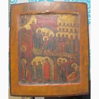 Икона Покрова, ковчег, современное письмо