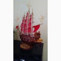 Продам модель корабля парусник