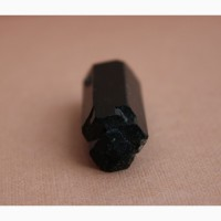 Черный турмалин (шерл), двухголовый кристалл