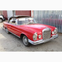 1962 Mercedes-Benz 220 SE Convertible