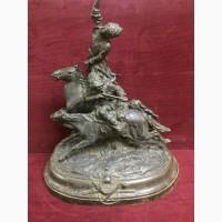 Скульптура Джигитовка
