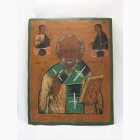 Продается Икона Николай Чудотворец. Российская Империя XIX век