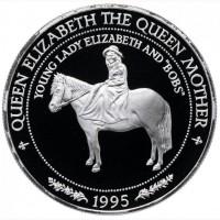 Монета серебряная Самоа чеканка пруф 1997г продам. принцесса