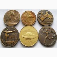 Спортивные настольные медали