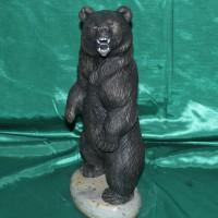 Элитный подарок из натурального камня медведь БЕРСЕРК