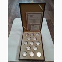 Продаю коллекцию серебряных медалей Православные праздники состоящая из 13 медалей