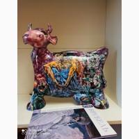 Продам уникальную скульптуруДемон, керамика, минеральные краски