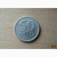 50 филлеров 1969г Венгрия в Санкт-Петербурге