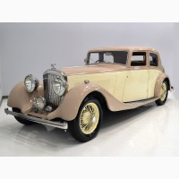 1938 Bentley Word Park Sedan 4 1/4 L 4/25 L
