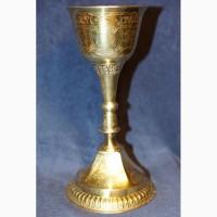 Старинный евхаристический набор из семи предметов. Серебро «84». Россия, XIX век