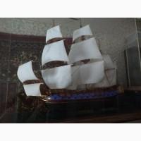 Продам 7 моделей кораблей ручной работы 1970 год