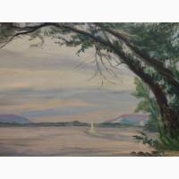 Продается Картина Волга Китаев В.С. Самара 1999 год