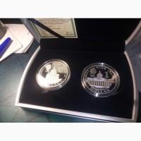 Набор монет Кутузов и Наполеон Ниуэ 2010 год