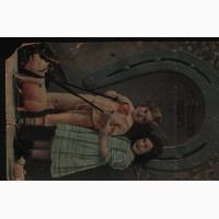 Продам открытку редкую антикварную С новым годом приблизительно 1912 год, с маркой