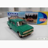 Модель автомобиля ВАЗ-2101 Номерная А9. 1985 г.в