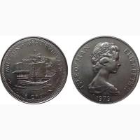 14 монет с кораблями набор разных лет и разных стран