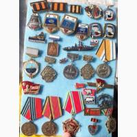 Значки военно-морской флот и прочие, коллекция