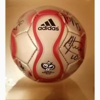 Мяч с автографами ФК Зенит 2006 года