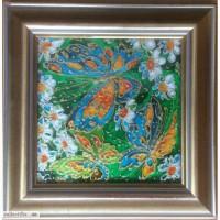 Картина Бабочки на окне
