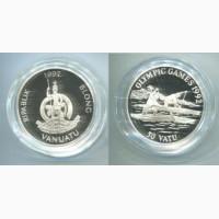Монета 50 вату (Барселона 1992 гребля серебро)