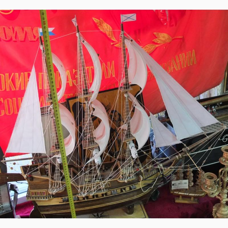 Фото 6. Модель парусного корабля, ручная работа