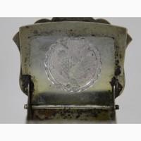 Продается Серебряная солонка стульчик Без соли, без хлеба, половина обеда.Москва XIX век