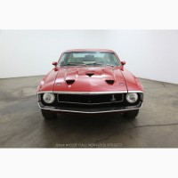 1969 Ford Shelby GT500 Factback