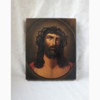 Продается Икона Иисус Христос в Терновом Венце. Конец XIX века