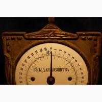 Старинные русские Весы для хозяйства на 40 фунтов в стиле Модерн. Россия, кон. XIX века