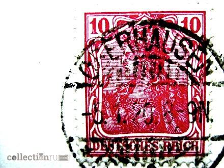 Фото 3. Редкая почтовая карточка. Модерн. Весна. 1920 год