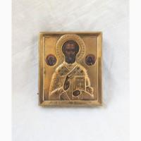 Продается Икона Св. Николай Чудотворец. Конец XIX века
