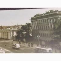 Открытка вид на Невский проспект размер 36х16 см
