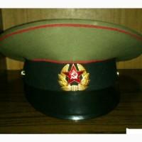 Фуражка солдатская 1991-1993гг+ ремень офицерский 1979г.(СССР)