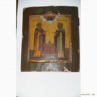 Продам икону старинную, ориентировочно середина - конец XVIII века