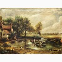 Продается Копия картины Телега для сена.Европа начало XX века