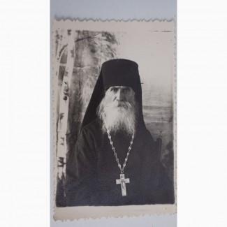 Две редкие фотографии схиигумена Троице-Сергиевой Лавры. Россия, конец XIX века