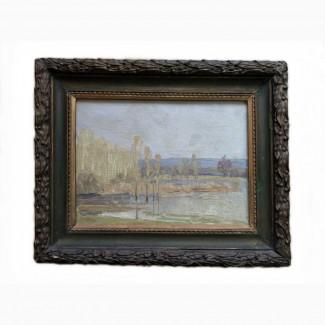 Продается Картина Весна Зингер Г.Е. Самара 1963 год