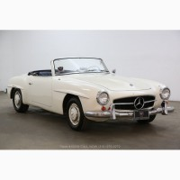 1961 Mercedes-Benz 190SL with 2 tops