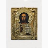 Продается Икона Господь Вседержитель фабрики Крестьянинова. Мстёра конец XIX века