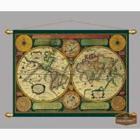 Карты-мира 17-18вв