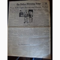 Газета США, штат Техас от 24.05.1934 Dallas Morning News