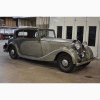 1935 Rolls- Royce 20/25 with an Artur Mulliner