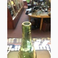 Пивная бутылка Трехгорный пивзавод.Москва 1920-е годы