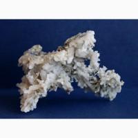 Друза кристаллов кварца, хлорит