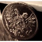 Редкая медная монета 1 пенни 1917 года